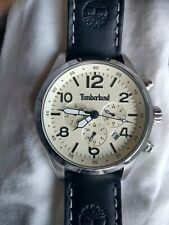Timberland Mens Multi dial Quartz Watch with Leather Strap 15249JS/07