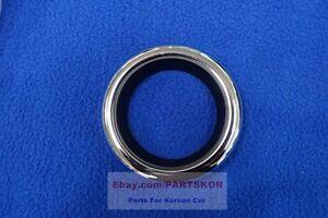 For 2012 ~ Kia Rio 5DR HB Chrome Ring Fog lamp Cover Moulding 1pcs Genuine Part