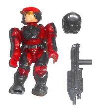 Halo Mega Bloks cifras ~ 2011 Unsc Marine (rojo) y rifle de asalto