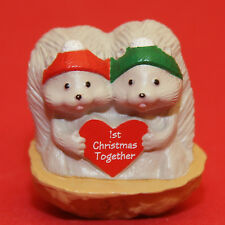 Merry Miniatures Hallmark 1992 Squirrels Nutshell QFM9064 Christmas