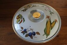 Royal Worcester Evesham Gold Handled Casserole Dish with Lid