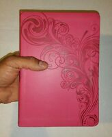 KJV Deluxe Gift Bible, Pink LeatherTouch HOLMAN King James Version FREE SHIPPING