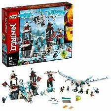 LEGO 70678 Ninjago Ice Castle Of The Forsaken Emperor Kids Building Toy Playset
