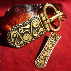 Awarisches Gürtel Set Bronze Larp buckle kit Belt Avar Albania 2