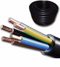 Erdkabel NYY-J 5x2,5 mm² schwarz Ring 25m 5x2,5qmm für Innen und Außenverlegung