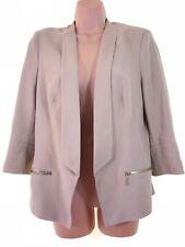 MARKS & SPENCER collection camel beige elegant blazer jacket size 12 euro 40
