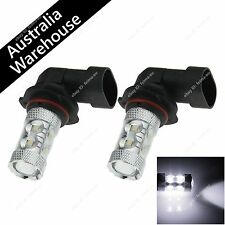 Pair High Power White 10 CREE LED 9005 HB3 P20d Bulb Fog Light Parking Head Lamp