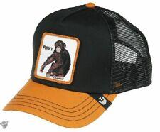 Goorin Animal Farm Trucker Snapback Baseball Hat Cap Banana Shake Funky Monkey