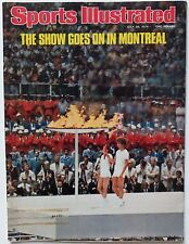July 26 1976 Montreal Summer Olympics Sports Illustrated Magazine Vintage OLD