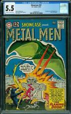 Showcase #37 CGC 5.5 DC 1962 1st Metal Men! Key Silver Age! L9 219 cm