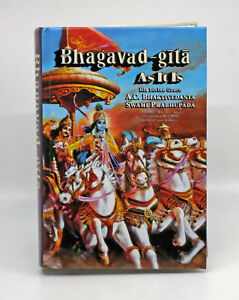 Bhagavad Gita as it is by Bhaktivedanta Prabhupada (2008, Hardcover)
