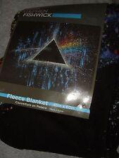 Pink Floyd Stephen Fishwick Art Dark Side Of The Moon Plush Fleece Throw Blanket