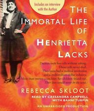 The Immortal Life of Henrietta Lacks by Rebecca Skloot (2010, CD, Unabridged)