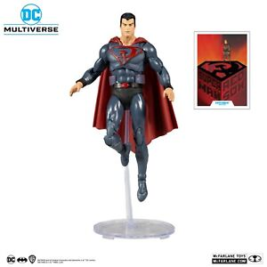 """McFarlane Toys DC Multiverse Red Son Superman 7"""" Inch Action Figure NEW! BOXED!"""