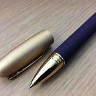 Delta Y2K Trend Eggplant W/ Gold Cap Rollerball Pen