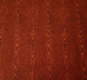 Quilting Naturals BTY Kensington Quilting Treasures Woodgrain Wood Reddish Brown