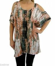 Cotton Animal Print Tunic Tops for Women
