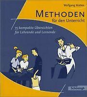 Methoden und Arbeitstechniken: Methoden für den Unterric... | Buch | Zustand gut