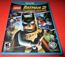 LEGO Batman 2: DC Super Heroes Nintendo Wii U *Factory Sealed! *Free Shipping!