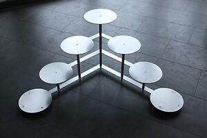Aluminium Hochzeitstortenständer 4 Etagen Etagere Alu Ø 24 cm *PROFI* Hochzeit