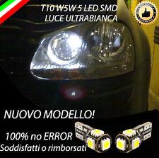 COPPIA LUCI POSIZIONE 5 LED GOLF 5 V T10 W5W CANBUS 100% NO ERRORE
