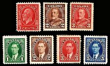 CANADA #197-218-219-231-232-233-235 MINT - MIXED CONDITION LOT $21.50 (ESP#5036)