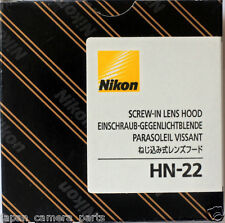 Nikon HN-22 metal lens hood for AF 60mm F2.8 Macro new