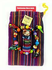 WORRY DOLL & CERAMIC BRACELET WITH POUCH HANDMADE IN GUATEMALA BY MAYAN ARTISANS