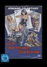 DVD EIN TOTAL VERSAUTES WOCHENENDE - ADRIANO CELENTANO - Italo-Komödie ** NEU **