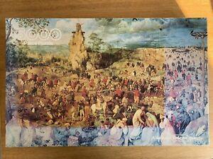 Falcon Rare Vintage 5000 Piece Puzzle - Procession to Calvary, Bruegel the Elder