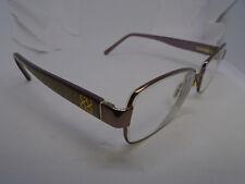 COACH Womens Eyeglasses LOUISE 1009 TAN 50-15-135 Rx Flex Hinge Glasses Frames