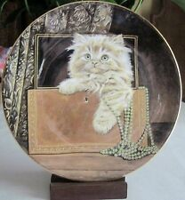 Purrfect Treasure Kitten Classics Plate Collection ~ The Hamilton Collection
