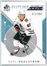 2018-19 SP AUTHENTIC FUTURE WATCH CARL DAHLSTROM ROOKIE 917/999 CHICAGO