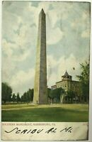 Postcard Harrisburg PA Soldiers Monument Ground View Pennsylvania 1900's