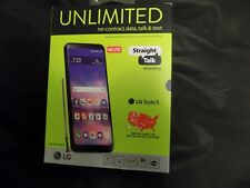 LG Stylo 5 - 32GB - New Aurora Black (Straight Talk)