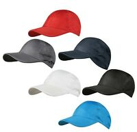 BLUE GREY RED BLACK WHITE Lightweight Breathable Baseball Cap Hat