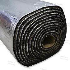 9m 10mm Heat Proof Sound Noice Deadener Insulation Adhesive Muffler Mat Door 1m