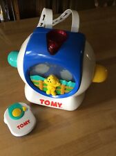 Tomy Teddy Bear Dreamshow White - Cot Crib Night Light Projector Mobile Toy Baby