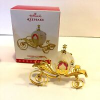 Hallmark Keepsake Cinderella's Carriage Disney Cinderella 2017 Ornament New