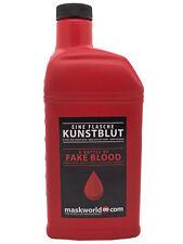 Kunstblut / Kunst Blut Halloween Splatter Blood Horror Fasching Make Up  5000