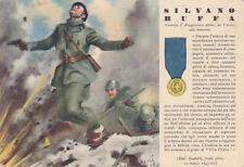 C2223) WW2 GRECIA, M. O.SILVANO BUFFA DI TRIESTE, 7 REGGIMENTO ALPINI.