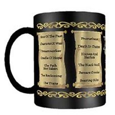 Xena Warrior Princess TV Series Season 5 Episode List Ceramic Mug NEW UNUSED