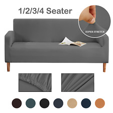 Couch Protector Sofa Covers Slipcover Elastic Stretch Fabric Settee 1/2/3/4