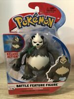 PANGORO Pokemon Battle Feature Action Figure Deluxe New In Box