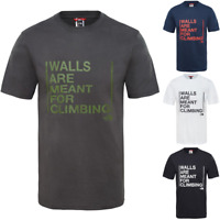 THE NORTH FACE TNF Walls Climbing Cotton T-Shirt Short Sleeve Tee Mens All Size