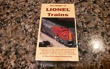THE MAGIC OF LIONEL TRAINS New Sealed VHS! PBS Discovery Channel