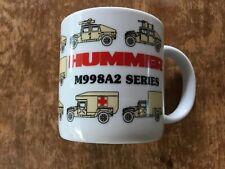 New listing Hummer M998A2 Series Coffee Mug / Cup Military History Collectors Humvee mug