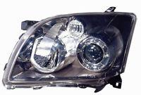 Proyector Faro Delantero Derecho para Toyota Avensis 2007 Al 2009
