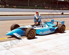 JACQUES VILLENEUVE 1995 INDY 500 WINNER 8x10 PHOTO #2