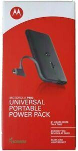 OEM Motorola P893 Portable Universal Power Battery Pack Charger Extender 1820mah